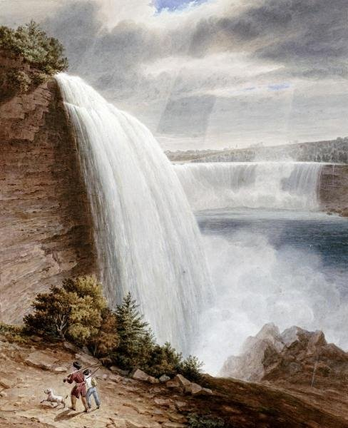 WILLIAM JAMES BENNETT - NIAGARA FALLS - Giclée on