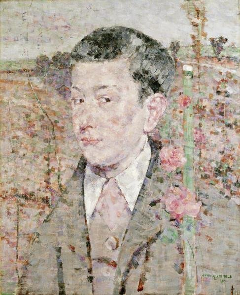 JOHN QUINTON PRINGLE - A PORTRAIT OF A BOY - Giclée on