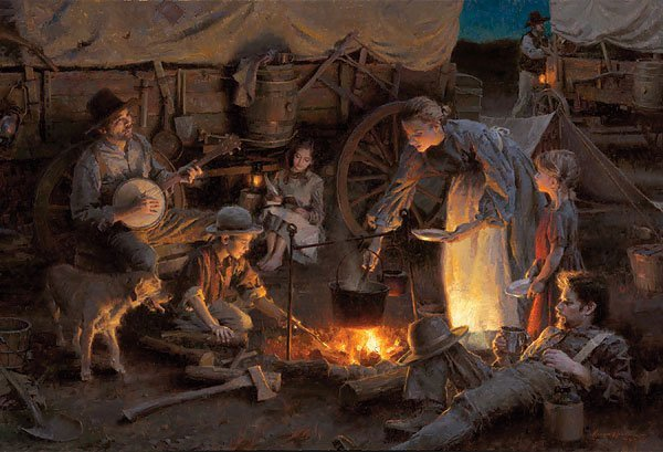 HAND SIGNED - MORGAN WEISTLING - OREGON TRAIL FAMILY,