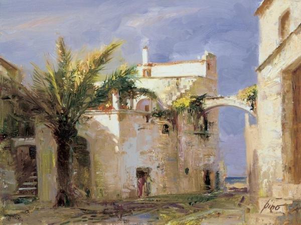 PINO - HIDDEN VIEW - Giclée on Canvas