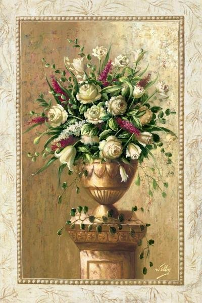 WELBY - SPRING BLOSSOMS I - Giclée on Canvas
