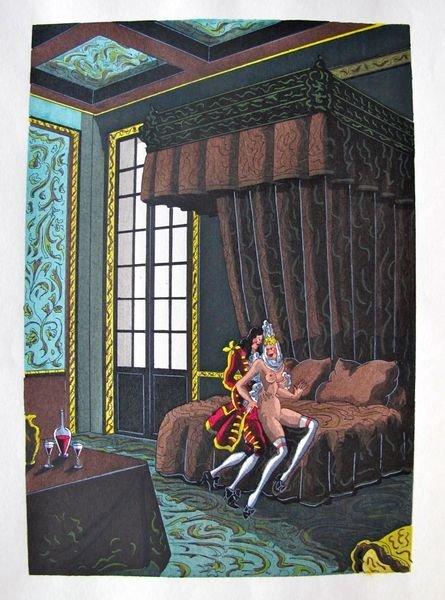 JEAN GRADASSI MEMOIRS OF CARDINAL DUBOIS 1950 COLOR