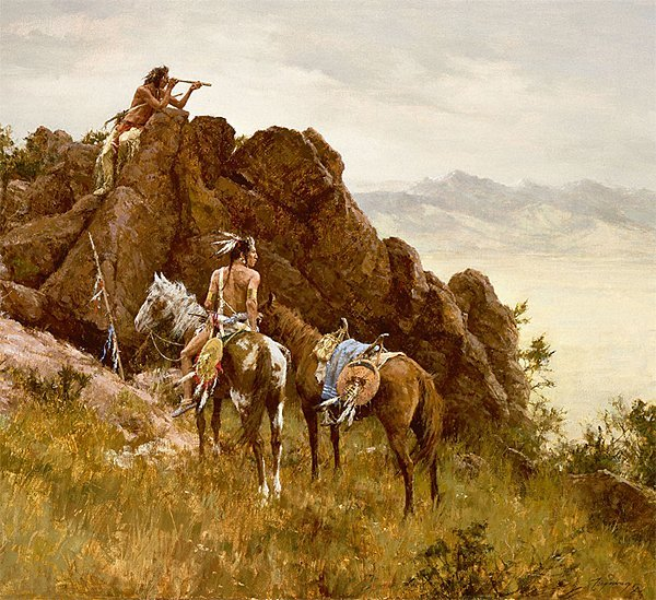 HAND SIGNED - HOWARD TERPNING - FAR SEEING GLASS