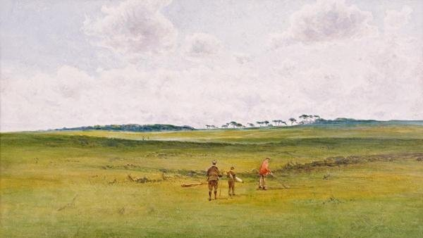 JAMES FORBES MACKINTOSH GOW  - ON THE LINKS, ST.