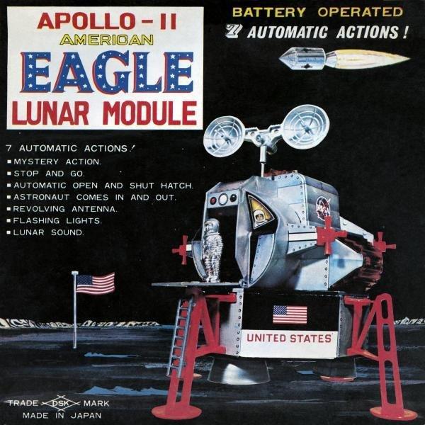 RETROROCKET  -  APOLLO - 11 AMERICAN EAGLE LUNAR MODULE