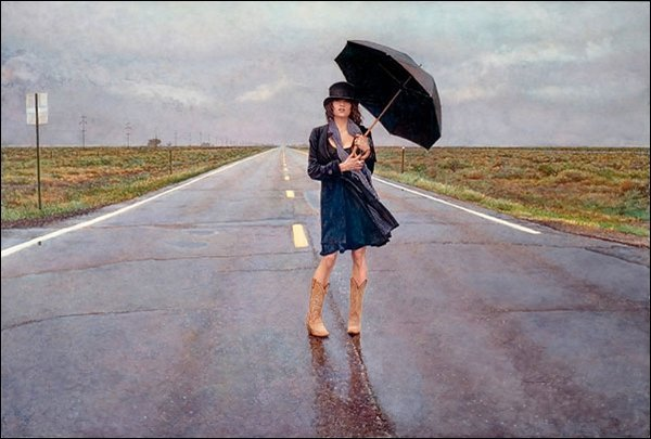 HAND SIGNED - STEVE HANKS - THE ROAD LESS TRAVELED