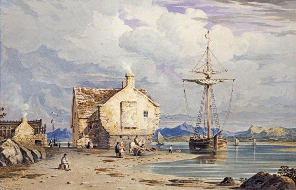JOHN VARLEY  -  TEGWIN FERRY  -  GICLÉE ON CANVAS