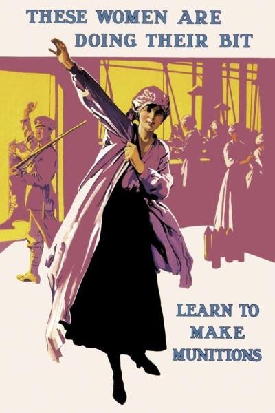 UNKNOWN  -  THESE WOMEN ARE DOING THEIR BIT: LEARN TO
