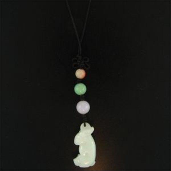 NATURAL GREEN WHITE JADE STATUARY-GRADE A JADE