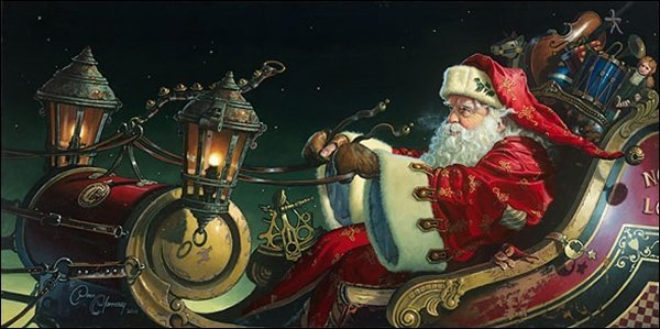 HAND SIGNED - DEAN MORRISSEY - FATHER CHRISTMAS: THE