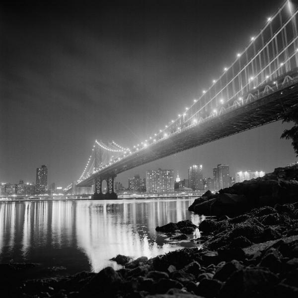 PHILIPPE LEVY - STAB  - MANHATTAN BRIDGE BY NIGHT  -