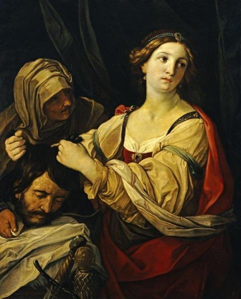 ELISABETTA SIRANI  - JUDITH WITH THE HEAD OF HOLOFERNES