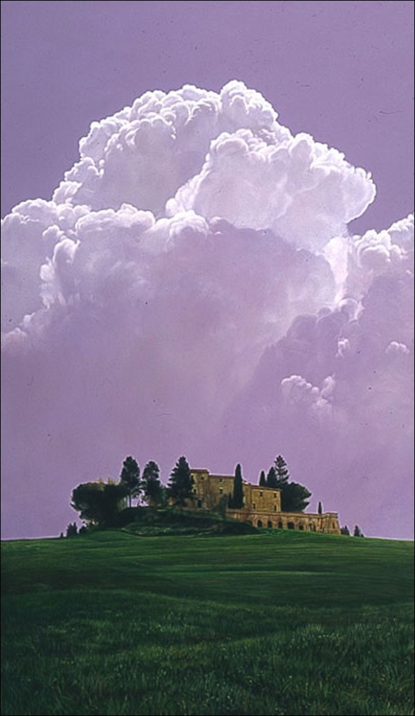 HAND SIGNED - CHRIS YOUNG - TUSCAN CLOUD