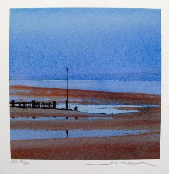 GED MITCHELL LOW TIDE LIMITED ED. HAND SIGNED GICLEE