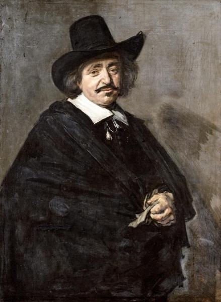 FRANS HALS -PORTRAIT OF A GENTLEMAN - GICLÉE ON CANVAS