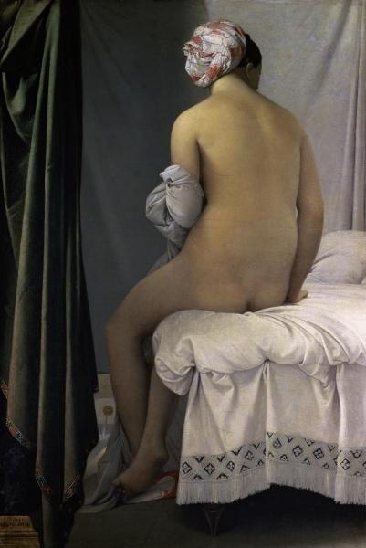 JEAN AUGUSTE DOMINIQUE INGRES -THE BATHER OF VALPINCON