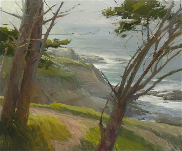 HAND SIGNED - KEN AUSTER - LA JOLLA LIGHT