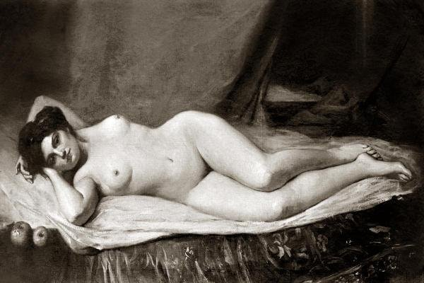 VINTAGE NUDES -SENSUALITY - GICLÉE ON CANVAS