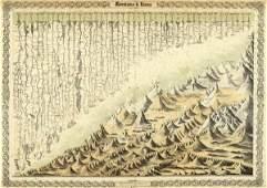 G.W. COLTON -MOUNTAINS & RIVERS, 1856 - GICLÉE ON