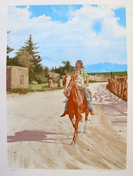 """ANDREW MICHAEL """"FATHER & SON"""" NATIVE AMERICANS LIMITED"""