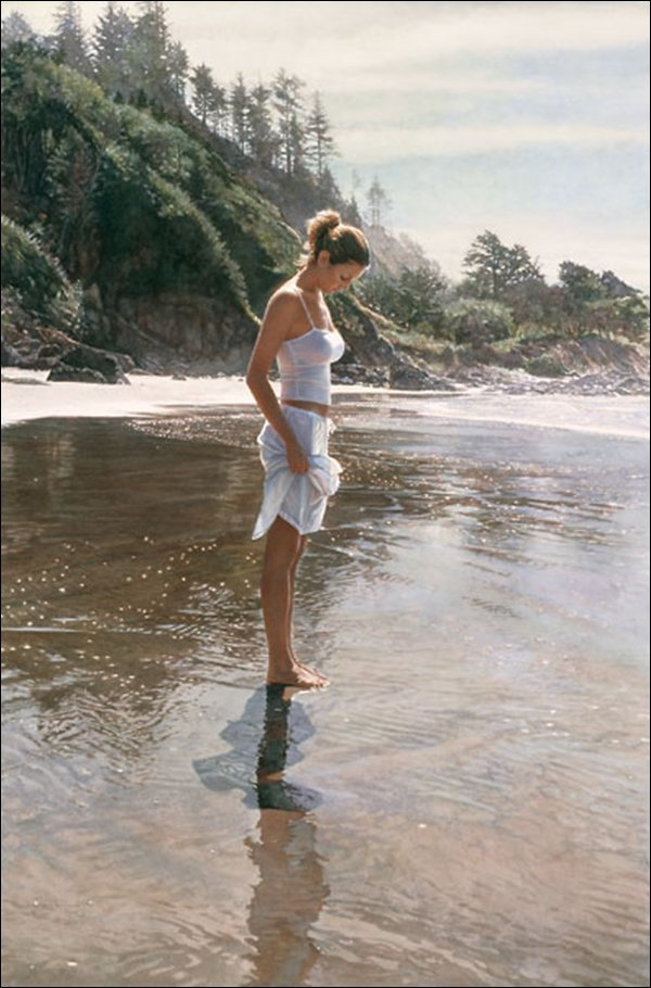 HAND SIGNED - STEVE HANKS - NEW SHORELINE