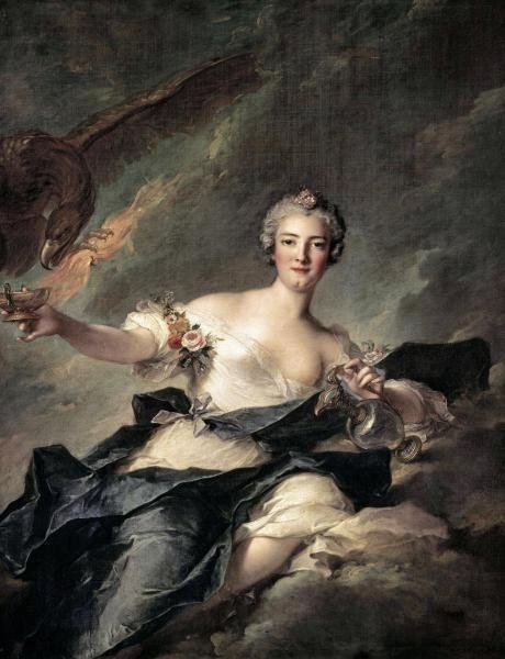 JEAN - MARC NATTIER  - DUCHESS OF CHAULNES AS HEBE  -