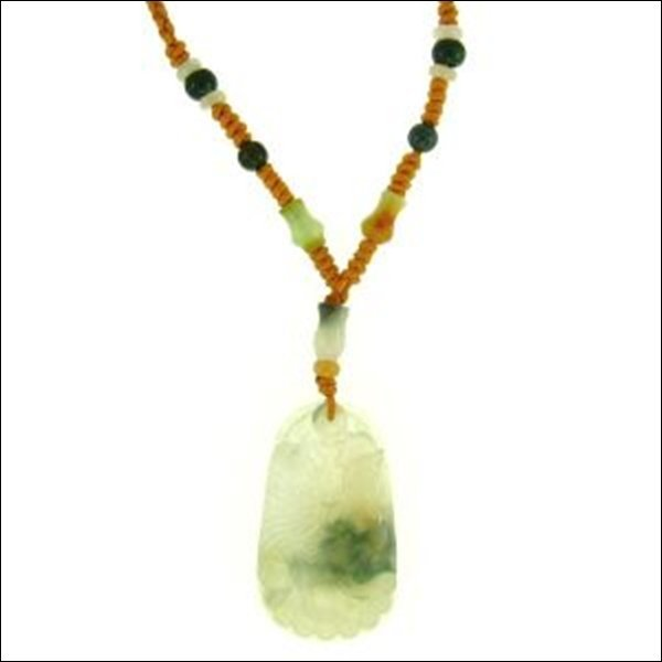 NATURAL WATER JADE NECKLACE