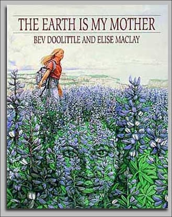 HAND SIGNED - BEV DOOLITTLE - THE EARTH IS MY MOTHER