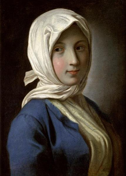PIETRO ANTONIO ROTARI -A GIRL IN A BLUE JACKET AND