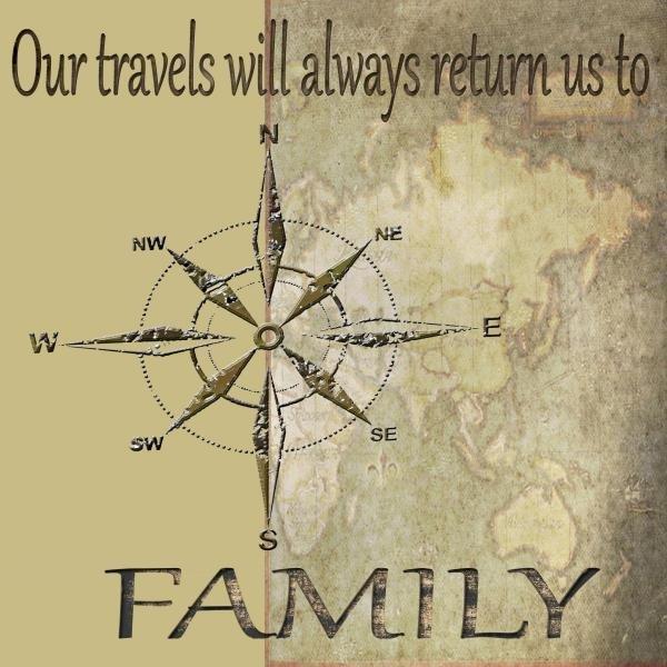 KAREN J. WILLIAMS -TRAVELS LEAD BACK TO FAMILY - GICLÉE