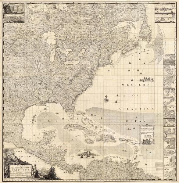 HENRY POPPLE -COMPOSITE: BRITISH EMPIRE IN AMERICA,