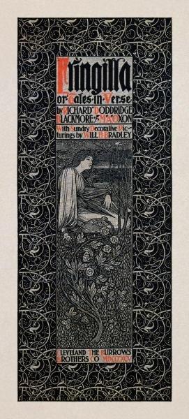 WILLIAM H. BRADLEY -FRINGILLA - GICLÉE ON CANVAS