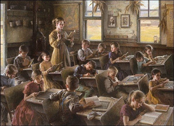 HAND SIGNED - MORGAN WEISTLING - COUNTRY SCHOOLHOUSE,
