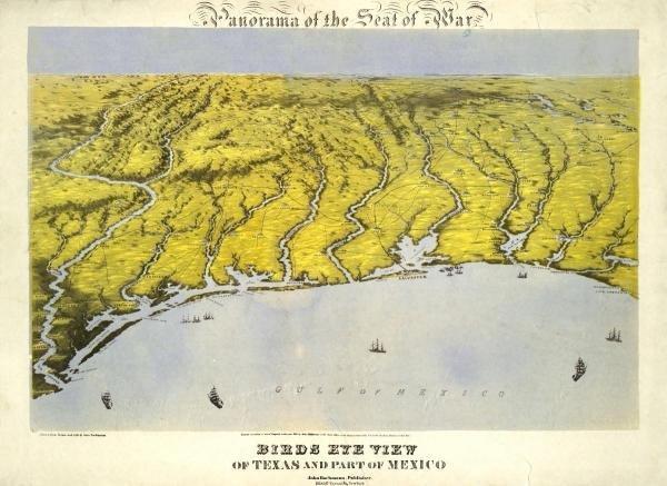 JOHN BACHMANN -TEXAS AND PART OF MEXICO, 1861 - GICLÉE