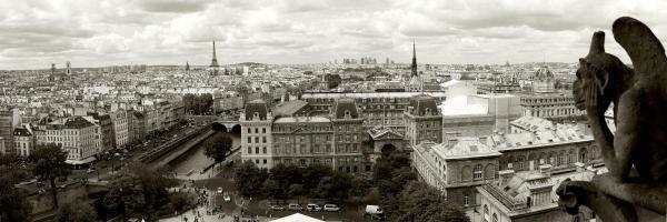 VADIM RATSENSKIY  - PARIS PANORAMA  -  GICLÉE ON CANVAS