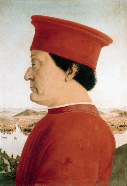 PIERO DELLA FRANCESCA  - DUKE OF URBINO  -  GICLÉE ON