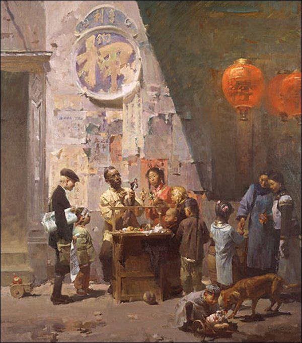 HAND SIGNED - MIAN SITU - THE TOYMAKER OF ROSS ALLEY,