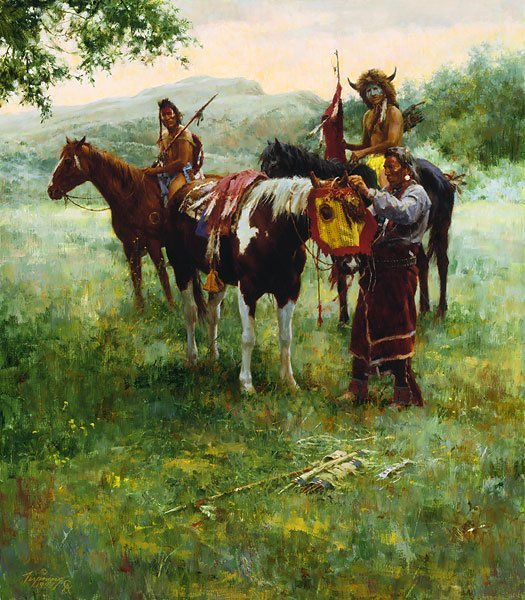 MEDICINE HORSE MASK - HOWARD TERPNING