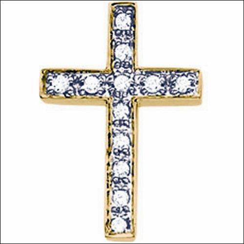 Diamond Unity Cross Pendant