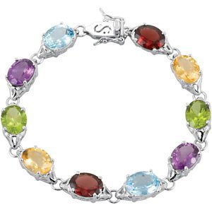 Multi Gemstone Bracelet