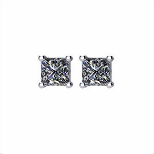 SI₂-SI₃ G-H Princess-Cut Diamond Friction