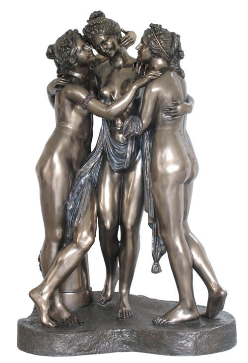 THE THREE GRACES  - BRONZE