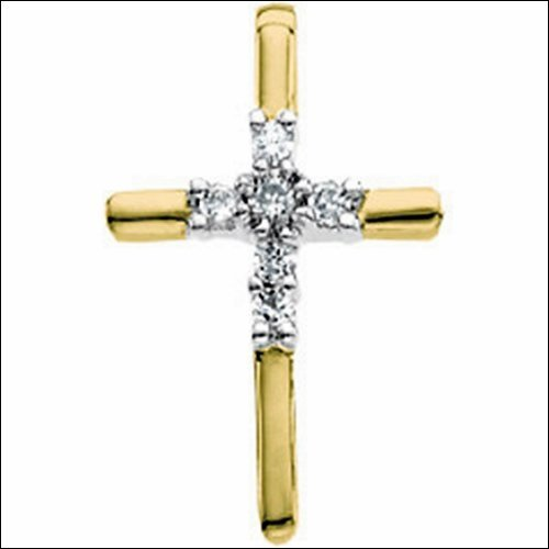 Diamond Unity Cross Pendant