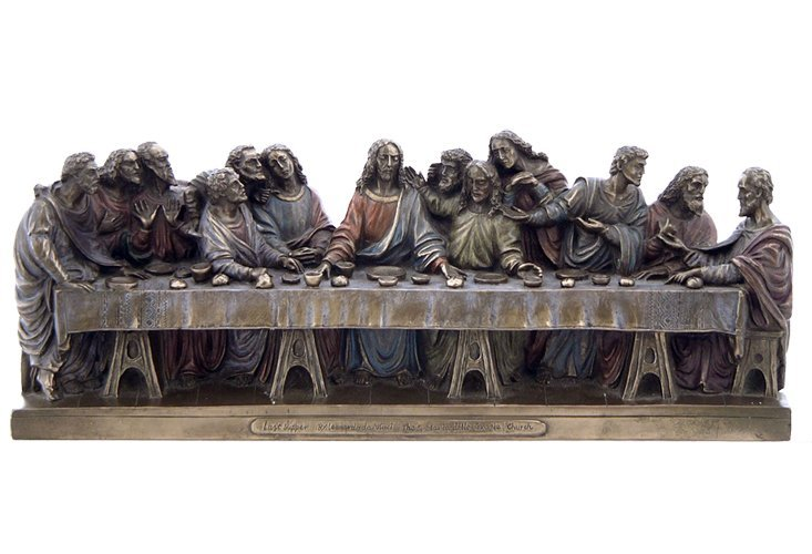 THE LAST SUPPER  - BRONZE