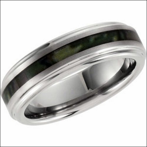 Dura Tungsten Ridged Band