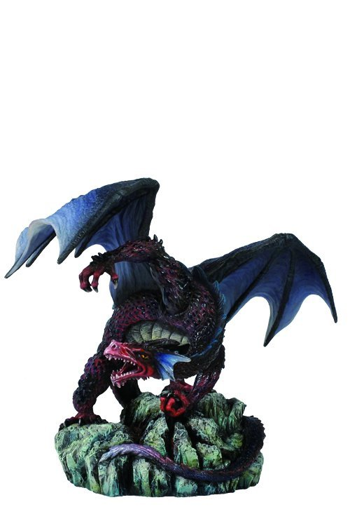 DRAGON CLENCHING FIST WITH OPEN WINGS