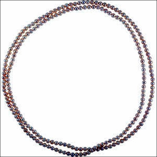 """72"""" White Freshwater Cultured Pearl Rope"""