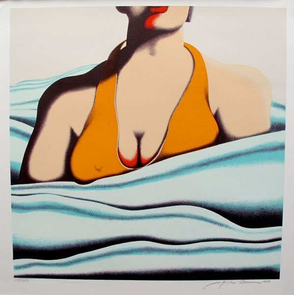"""JACK BRUSCA """"THE BEACH"""" HAND SIGNED LIMITED ED."""