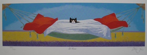 TONI GOFFE ALL MINE HAND SIGNED LIMITED ED. GICLEE