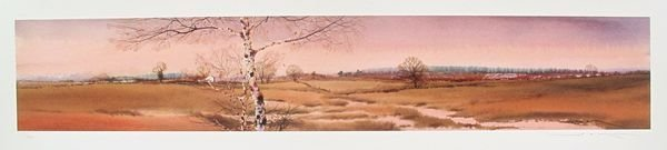 GED MITCHELL LANDSCAPE V LIMITED ED. HAND SIGNED GICLEE
